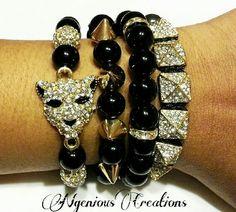 Bracelets Gone Wild 4pc Set (Gold Tone) by NGeniousCreations on Etsy, $50.00