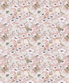 Floral pattern, by Mia Olofsson.