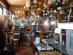 West End Salvage Shop and Coffee Cafe - my favorite HGTV show...but they never make new episodes!!!