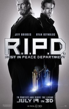 R.I.P. - Jeff Bridges and Ryan Reynolds #Movie #Poster