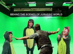 XD dan was the dinosuaur in jurassic world you guys. But the one on the right!