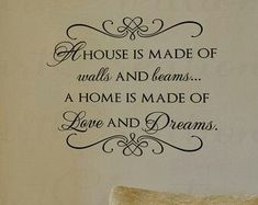 and always in our home, there is the love of God....