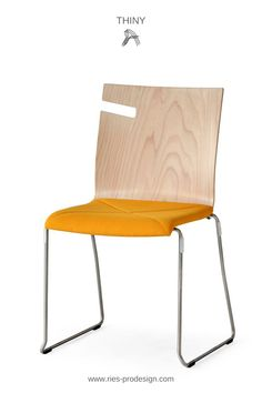 Hochwertige Design Sitzmöbel für Festsäle, Innenarchitektur  Gastronomie, Bildungs- und Kulturobjekte. Wir sind auf stapelbare Stühle  spezialisiert und liefern Bankettstühle aus Holz und Metall. Telefonische  Anfrage unter  43 699 1599 0977    #sitzmoebel, #bankettstuehle #RiesProDesign Form Design, Esstisch Design, Trends, Interior Design, Chair, Furniture, Home Decor, Beige, Fine Dining