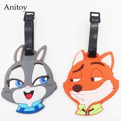 $1.97 (Buy here: https://alitems.com/g/1e8d114494ebda23ff8b16525dc3e8/?i=5&ulp=https%3A%2F%2Fwww.aliexpress.com%2Fitem%2FZootopia-Fox-Nick-Judy-creative-silicone-luggage-tag-pendants-hang-tags-checked-brand-tourist-products%2F32696370976.html ) Zootopia Fox Nick &Judy creative silicone luggage tag pendants hang tags checked brand tourist products KT2703 for just $1.97