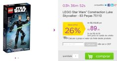 "LEGO Star Wars"" Luke Skywalker - 83 Peças << R$ 8990 em 2 vezes >>"