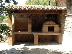 Proyectos que intentar on pinterest earth google and ovens for Barbacoas de piedra para jardin
