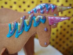 How To Make 3D Gingerbread Unicorns