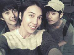 PHOTO: Kim Hyung Jun Tweets New SS501 with Park Jung Min and Kim Kyu Jong
