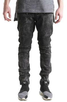 Embellish Denim Mark Biker Washed Black use rep code:OLIVE for 20% off