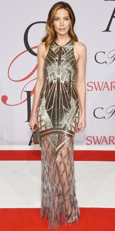 CFDA Awards 2015 Best Red Carpet Looks - Michelle Monaghan from #InStyle - Monique Lhuillier