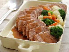 Norwegian Food, Meat Loaf, Great Recipes, Mashed Potatoes, Hamburger, Sausage, Bacon, Ethnic Recipes
