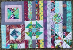 Gypsy Wife {section one} (Jaffa quilts)