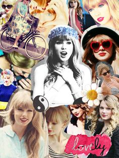 Taylor Swift Tumblr Collage