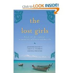 Marissa's pick: The Lost Girls by Jennifer Baggett, Holly Corbett & Amanda Presssner.  Loved that 3 girls quit their jobs to travel the world and dive deep into other cultures.  The fact that they volunteered in Africa and also stayed at an Ashram in India was proof they weren't just doing the trip to get away from their lives but they were doing the trips to redefine their lives.