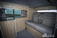 This is the inside of my van. T5 Camper