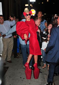"""Lady Gaga - Didn't this woman get ANY attention as a child??  """"Bless her heart...."""""""
