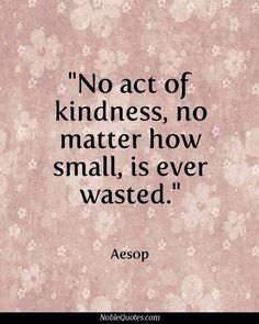 Preforming random acts of Kindness... go on world... BE AWESOME!!!