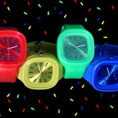 Clocker Watches  Colorful, Luminous Watches