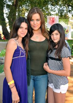 Kendall Jenner, Khloe and Kylie