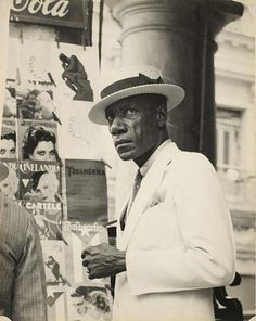 A citizen in downtown Havana. Photograph by Walker Evans. Havana, Cuba, 1933.