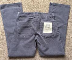 "J. CREW Women's Blue/Gray Corduroy Bootcut Pants ~NWT~ Size 27S (30"" Waist)   eBay"
