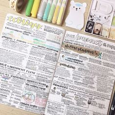 biology notes of ecology and our impacts on the ecosystem ✨ i am stressed but not really?¿ im also confused by myself don't worry 🙃… School Organization Notes, Study Organization, Class Notes, School Notes, Pretty Notes, Good Notes, Study Notes, Revision Notes, College Notes