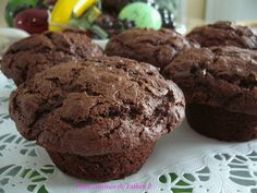 Les plats cuisinés de Esther B: Muffins aux dattes et au chocolat