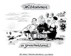 """OÖN-Karikatur vom 30. Juni 2015: """"Die neuen Tourismusprospekte sind fertig"""" Mehr Bilder des Tages auf: http://www.nachrichten.at/nachrichten/karikatur/ (Bild: Mayerhofer)"""