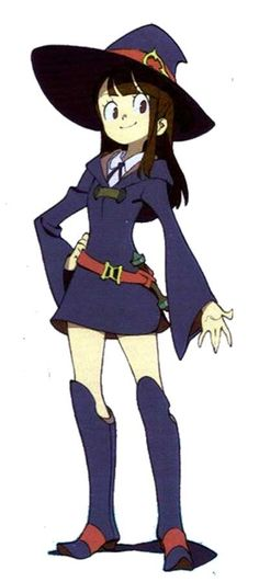 Little Witch Academia Cosplay -- Akko Cosplay Costume Version 01