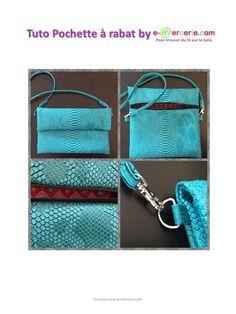 Une pochette discrète et pratique :) Je suis enfin de retour ;) beaucoup de travail avec mon site de vente en ligne www.e-mercerie.com et c'est super! je vous propose donc ce tuto pour réaliser une jolie pochette. Je vous souhaite de belles créations....