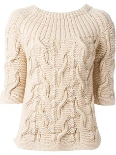 Agnona - chunky knit jumper