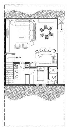 Plano Casa Monterrey Sotano