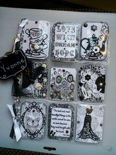 Black and White Pocket Letter