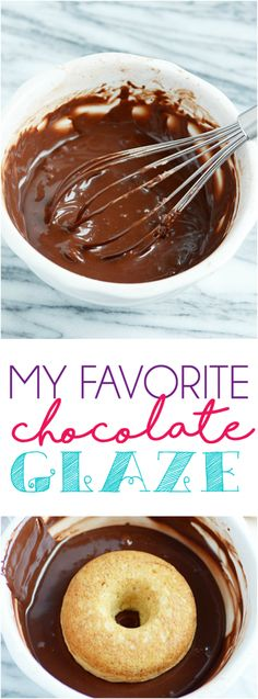 This EASY chocolate glaze is perfect for donuts, cookies, cakes, cupcakes, and more! ~ Shugary Sweets (chocolate icing for cupcakes powdered sugar) Donut Glaze Recipes, Chocolate Glaze Recipes, Chocolate Donuts, Best Chocolate, Delicious Chocolate, Chocolate Donut Frosting, Homemade Chocolate Icing, Chocolate Doughnut Glaze, Icing Recipe