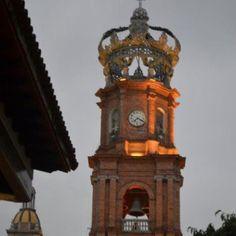 Clock tower Puerto Vallarta