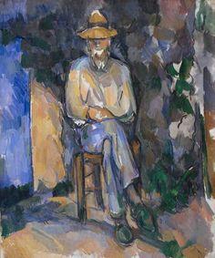 Paul Cezanne / The Gardener Vallier (Le Jardinier Vallier) / 1906 / oil on canvas