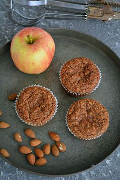Apfel Zimt Muffins Low Carb 01