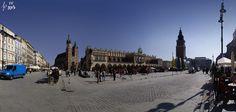 panorama rynku w Krakowie