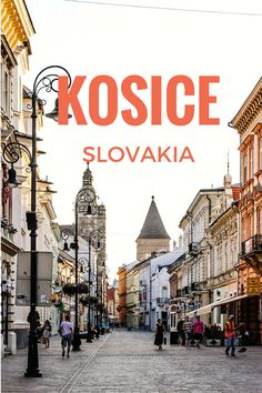 Kosice is gaining in popularity although still considered off the beaten path… Cool Places To Visit, Places To Travel, Travel Destinations, Bratislava Slovakia, Travel Around Europe, Short Trip, Central Europe, Travel Goals, Eastern Europe