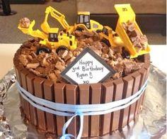 KitKat digger cake - so easy!