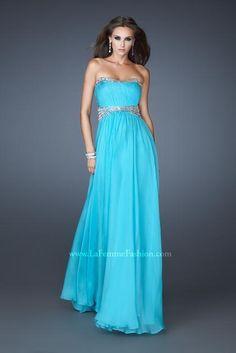 La Femme Dress 18611 at Peaches Boutique