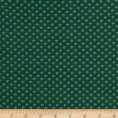 Monet Rayon Shirting Shadow Dots Green