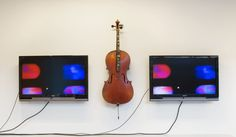 Nam June Paik, Cello Memory (2002). © President and Fellows of Harvard College