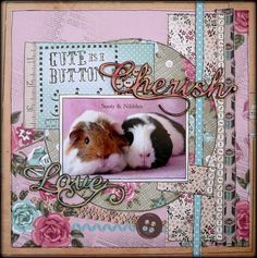 Cute as a Button Layout Scrapbooking Layouts, Scrapbook Pages, Paper Crafts, Diy Crafts, Needle And Thread, Mans Best Friend, Scrapbooks, Stamps, Patterns