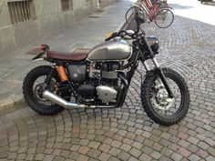 Triumph Street Tracker #motorcycles #streettracker #motos | caferacerpasion.com