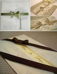 Tipos de papéis para convites de casamento