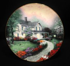 Home Sweet Home by Thomas Kinkade 1st Issue Collectors' Plate