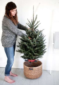 Un Arbol De Navidad Simple Y Acogedor | Cut & Paste – Blog de Moda