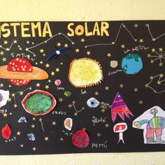 Their odd jobs My workshops cover and Crafts Sistema Solar, Solar Fan, Space Planets, My Mirror, Science And Nature, Outer Space, Solar System, Toddler Activities, Geek Stuff