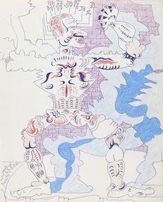 Karl Wirsum, Untitled, 1970